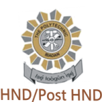 HND Full-Time Admission 2018/2019 Announced