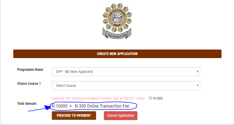 ND DPP- New Applicant: #10,300 (Bank Charges Included)
