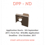 ND-DPP Form Still Available!