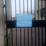 School Entrance Locked !