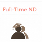 ND Full-Time Admission 2018/2019 Announced