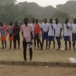 Novelty Match: Rector Team Wins With Penalty Shootout