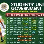 SUG Queens Cup 2019 Starting Tomorrow